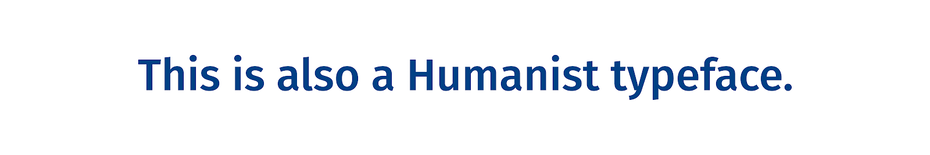 Гуманистический шрифт