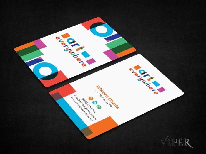 """многоцветная визитная карточка """"width ="""" 700 """"height ="""" 525"""