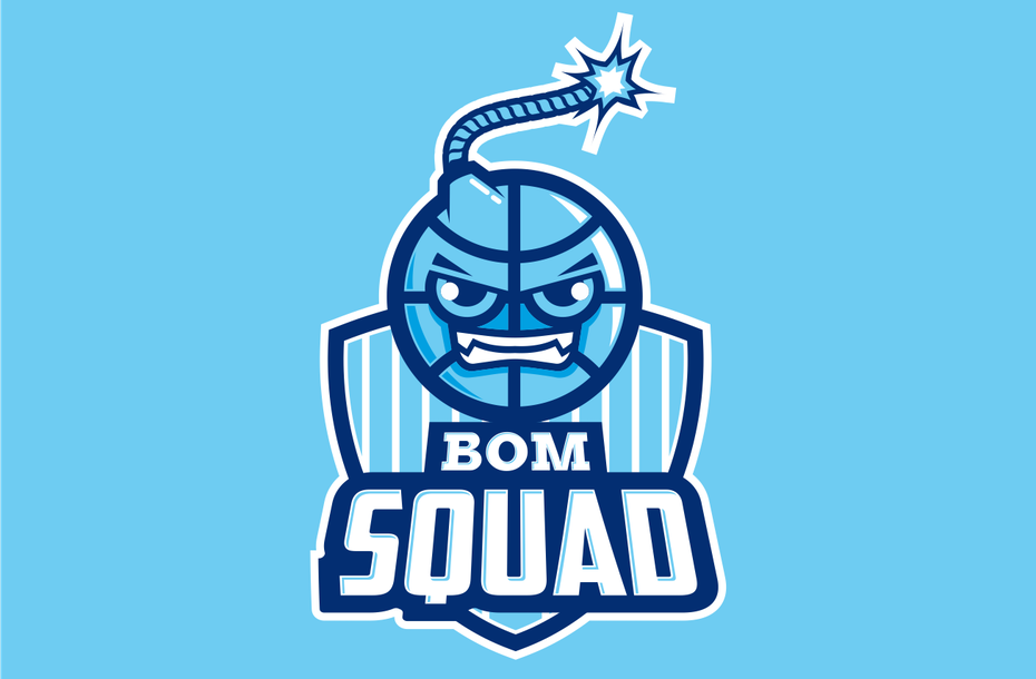 "спортивный логотип для BOM SQUAD ""width ="" 1304 ""height ="" 855"