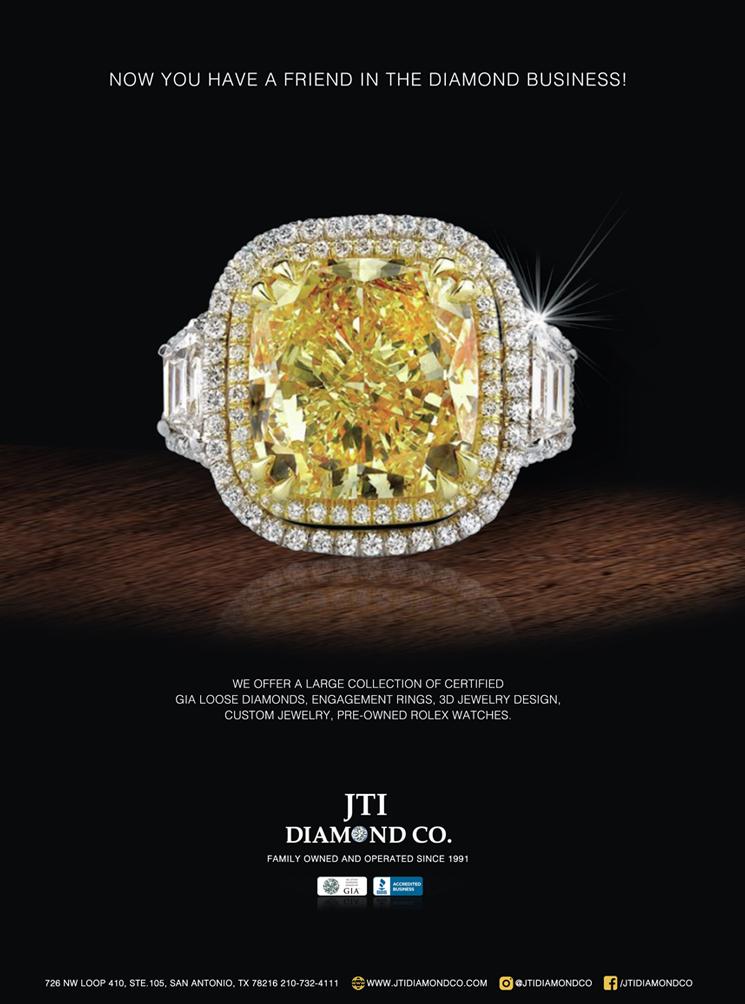 """Печатная реклама с заметным бриллиантовым кольцом """"width ="""" 745 """"height ="""" 1004"""