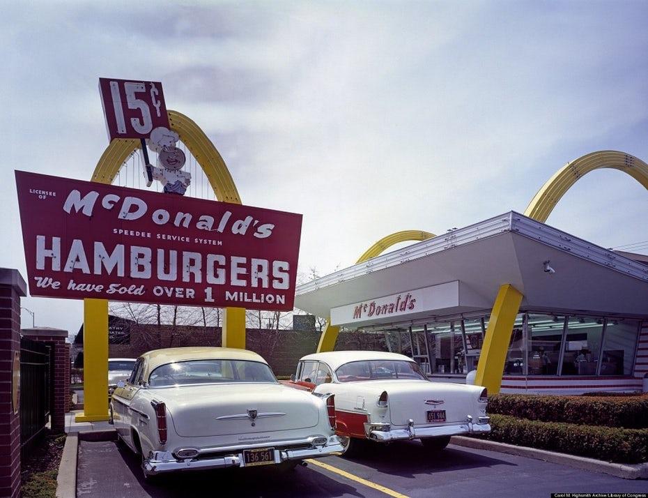 Первый ресторан McDonalds