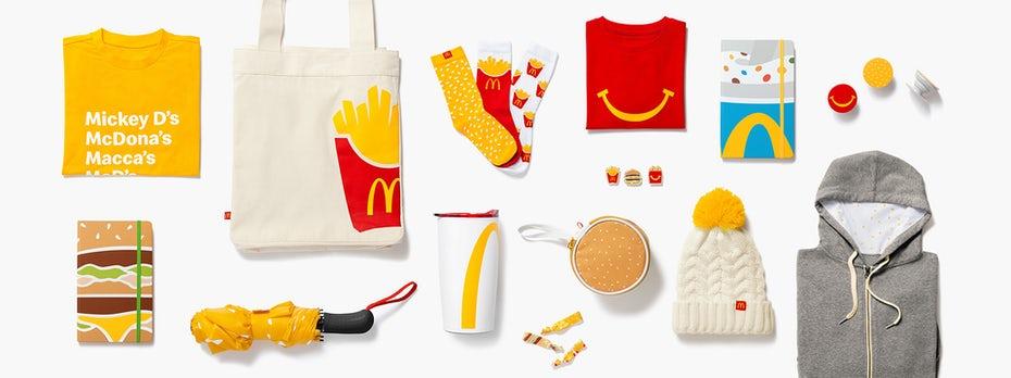 """коллекция товаров McDonald's """"width ="""" 1920 """"height ="""" 718"""