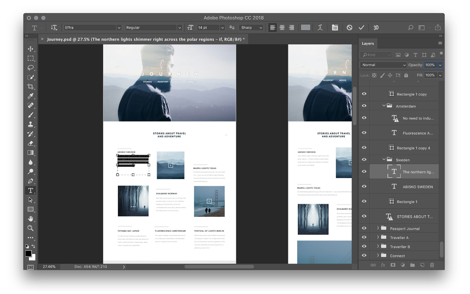 """Снимок экрана интерфейса Adobe Photoshop, используемого для веб-дизайна """"width ="""" 1600 """"height ="""" 1000 """"/>    <figcaption> Photoshop — одно из старейших и наиболее часто используемых графических программ для веб-дизайна. Изображение через Adobe </figcaption></figure> <p> Чем отличается Photoshop, так это его абсолютная универсальность: это мощный инструмент для любого графического редактирования. Его, казалось бы, бесконечные функции позволяют дизайнерам создавать сложные текстуры, тени и другие эффекты, выходящие за рамки возможностей других программ для веб-дизайна. . </p> <p> Редактирование изображений и манипуляции с ними также могут выполняться неразрушающим образом в одном документе — без переключения между несколькими программами. Кроме того, его инструменты цифрового искусства позволяют создавать эскизы ранних концепций макета в программе. </p> <p> Но Photoshop, как следует из названия, никогда не предназначался исключительно для веб-дизайна. Какими бы удобными ни были его многочисленные потенциальные применения, они также способствуют крутому обучению и некоторым необходимым обходным путям (особенно когда дело доходит до изоляции и экспорта элементов). Помимо этих жалоб, Photoshop остается безопасным выбором из-за своего набора инструментов и постоянного присутствия в индустрии дизайна. </p> <p> <strong> Цена </strong> </p> <ul> <li> 20,99 долларов в месяц за индивидуальную лицензию </li> <li> 50,99 долларов в месяц за полный доступ к Creative Suite </li> </ul> <p> <strong> Лучшая функция </strong> </p> <ul> <li> Возможность сложной графики и детального редактирования </li> </ul> <p> <strong> Рекомендуемые пользователи </strong> </p> <ul> <li> Специализированные графические и веб-дизайнеры </li> </ul> <p> <strong> Тип файла экспорта </strong> </p> <ul> <li> PSD, PDF, JPG, PNG, GIF, TIFF и SVG </li> </ul> <p> <strong> Уровень квалификации </strong> </p> <p> <strong> За </strong> </p> <ul> <li> Его популярность означает бесконечные ресурсы для обучения и подд"""