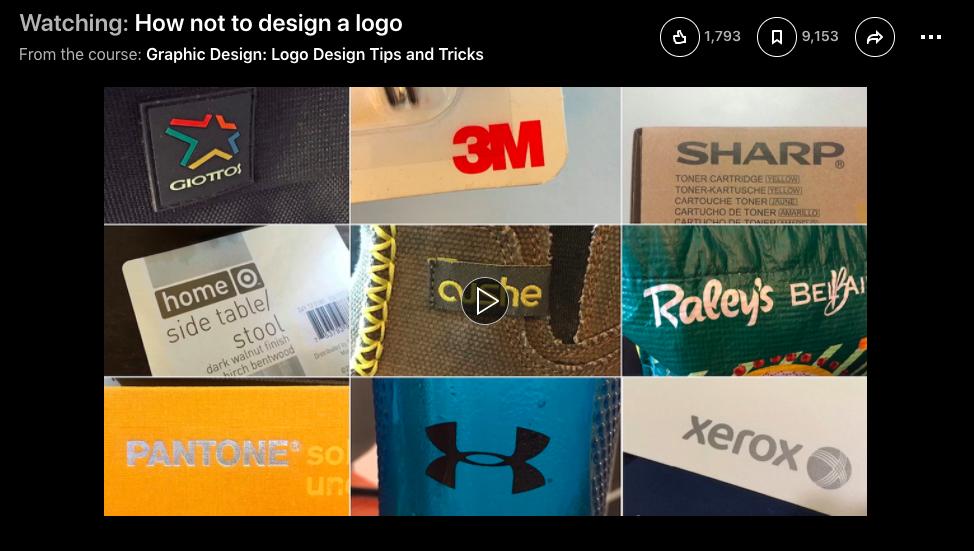 Учебное пособие по дизайну логотипа linkedin