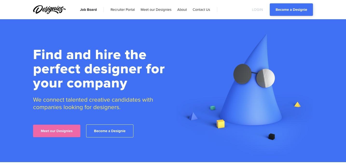 веб-сайт дизайнеров