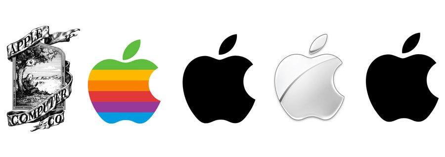 """эволюция логотипа Apple """"width ="""" 900 """"height ="""" 319 """"/>    <figcaption> эволюция логотипа Apple с 1976 года до наших дней </figcaption></figure> <p> Apple Inc., которая дала нам MacBook , iPad, iPhone, iPod и немало других технологий, которые люди буквально разбивают лагерем за пределами магазинов, чтобы заполучить в них руки, возможно, является самым узнаваемым брендом в мире. </p> <p> И их логотип тоже. Хотя оригинальный логотип, который компания запустила в середине 70-х, был немного… странным (на нем Иссак Ньютон сидел рядом с деревом. Серьезно), в 1976 году они переключились на свои культовые изображения яблока </p> <p> И хотя компания внесла незначительные изменения в цвет и отделку, логотип оставался неизменным в течение последних 30 с лишним лет. Что работает с логотипом Apple, Inc., так это то, что когда вы его видите, вы сразу думаете о продуктах Apple. Нет никаких сомнений в том, что вы получаете или что они предлагают. </p> <h2 id="""