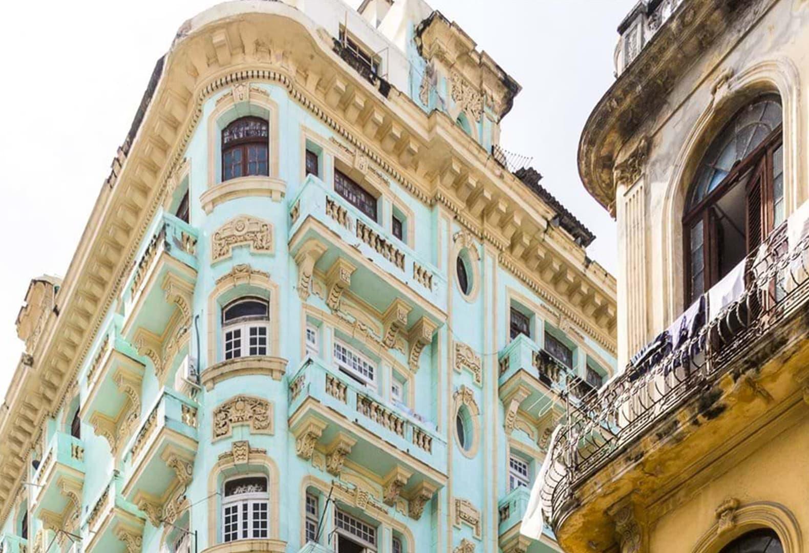 Casa Concord в центре Гаваны и планировка одних из апартаментов в этом доме