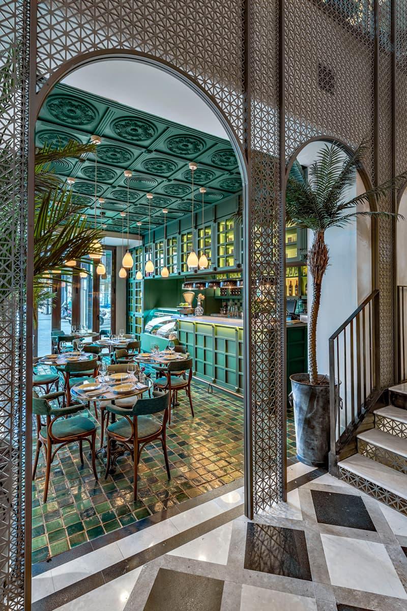 Ресторан и бар La Habanera в Мадриде с тропическими акцентами