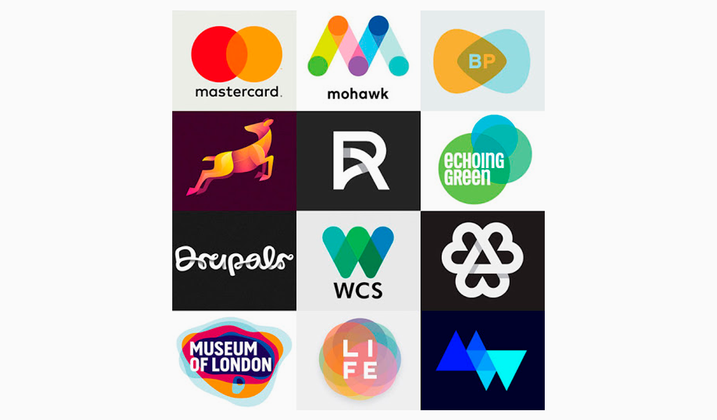 Логотипы перекрытие