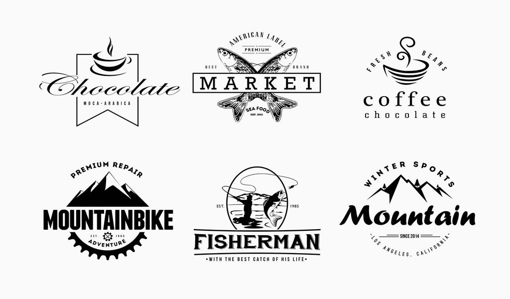 Винтажные логотипы