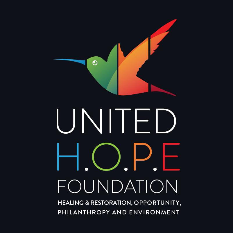 Логотип фонда с колибри