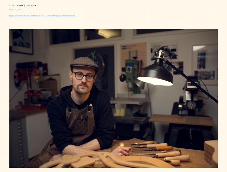 """Скриншот дизайна веб-сайта фотографии Уилла Бремриджа"""" width = """"1562"""" height = """"1185"""" />    <figcaption> Виа Уилл Бремридж </figcaption></figure> <h2 id="""