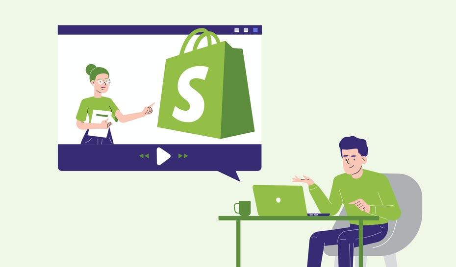 """Использование руководств по Shopify """"width ="""" 1860 """"height ="""" 1090 """"/>    <figcaption> Используйте лучшие руководства Shopfiy для настройки своего сайта электронной коммерции. Иллюстрация OrangeCrush </figcaption></figure> <p> Ниже мы собрали 17 статей и видео о том, как использовать Shopify. Некоторые из них предназначены для начинающих, а другие — для более продвинутых пользователей. Мы разделили эти лучшие руководства по Shopify на подкатегории, поэтому вам нужно только проверить те, которые подходят вам: </p> <div id="""