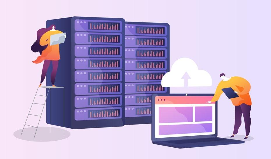 """хостинг-провайдеры позаботятся о вашем веб-сайте """"width ="""" 1280 """"height ="""" 750 """"/>    <figcaption> Убедитесь, что вы получаете правильный хостинг для нужд вашего веб-сайта. Дизайн изображения — Orange Crush. </figcaption></figure> <h3><span id="""