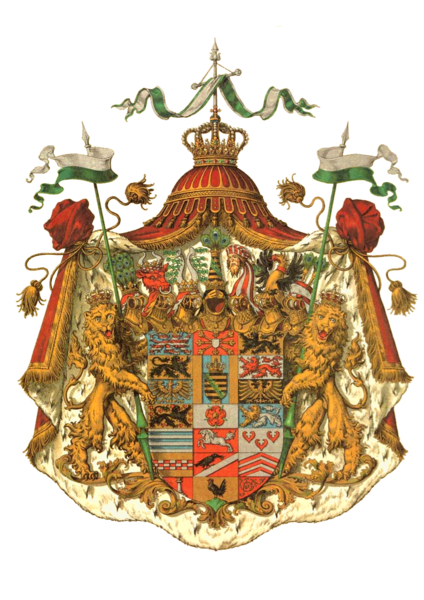 "Немецкий средневековый герб ""width ="" 424 ""height ="" 600 ""/>    <figcaption> Пример средневековой геральдики. Изображение с wikimedia commons </figcaption></figure> <ul> <li aria-level="
