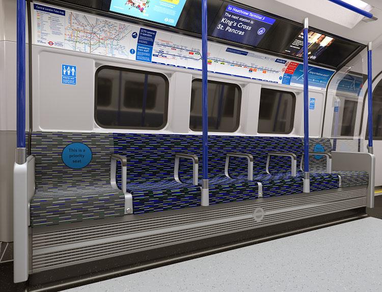 """новые поезда линии Пикадилли """"width ="""" 750 """"height ="""" 574 """"/>    <figcaption> Предоставлено TfL </figcaption></figure> <p> Экологичность также была в центре внимания при разработке новых конструкций, Siemens — добавляет: В нем говорится, что общее потребление энергии будет снижено на 20% по сравнению с текущим парком. </p> <p> Соответствующие особенности включают облегченную конструкцию и рекуперативное торможение. По словам Сименса, еще одним технологическим достижением являются «передовые тяговые системы», в которых используются магнитные двигатели с низкими потерями и вспомогательные электрические системы </p> <p>.</p> <p> Большие дверные проемы были добавлены для доступа в поезд и выход из него. «Внутри просторные приоритетные сиденья, а также несколько многофункциональных зон призваны« удовлетворить потребности каждого пассажира », — добавляет Сименс. </p> <p> По данным Siemens, максимальная скорость поездов составит 100 км в час, что поможет лондонскому метрополитену достичь своей цели — 27 поездов в час к 2027 году. Таким образом, в самое загруженное время поезд каждые 135 секунд. </p> <hr/> <h2><span id="""