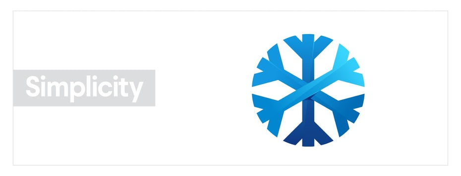 """Изображение снежинки, изображающее гештальт-принцип простоты """"width ="""" 1600 """"height ="""" 612"""