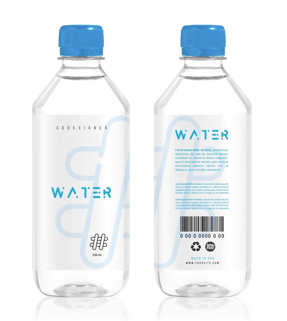 """две бутылки с чистой водой рядом с минималистичным текстом """"width ="""" 1535 """"height ="""" 1715 """"/>    <figcaption> Дизайн этикетки Игоря Калалба </figcaption></figure> <p> Но сколько Клиника Майо рекомендует около 15,5 стаканов (3,7 литра) жидкости каждый день для мужчин и 11,5 стаканов (2,7 литра) для женщин. Имейте в виду, что это жидкости, не обязательно вода, но некоторые жидкости, такие как кофе и газировка. являются мочегонными средствами, что означает, что они заставляют ваше тело выводить жидкости, высушивая вас. Когда вам нужно гидратировать, вода всегда лучший выбор. </p> <p> Проблема может заключаться не в том, чтобы заставить себя пить воду, а в том, чтобы заставить себя пить достаточно воды. </p> <p> Для многих простой способ — достать достаточно большую бутылку с водой, чтобы в ней можно было пить воду на целый день, и пить ее в течение дня. У этих бутылок часто есть полоски сбоку, показывающие, сколько воды осталось (и сколько вы уже выпили). </p> <p> Другие стратегии включают установку напоминаний в течение дня, выпивание стакана воды перед каждым приемом пищи и, если вам не нравится вкус простой воды, добавление в воду свежих фруктов, таких как клубника и огурцы. </p> <h3><span id="""