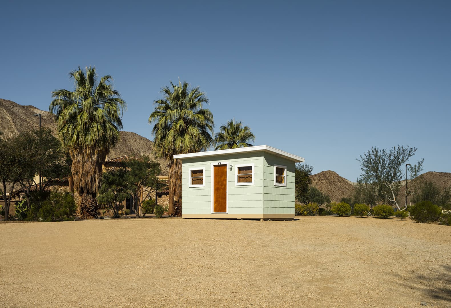 Desert X 2021. Kim Stringfellow, Jackrabbit Homestead