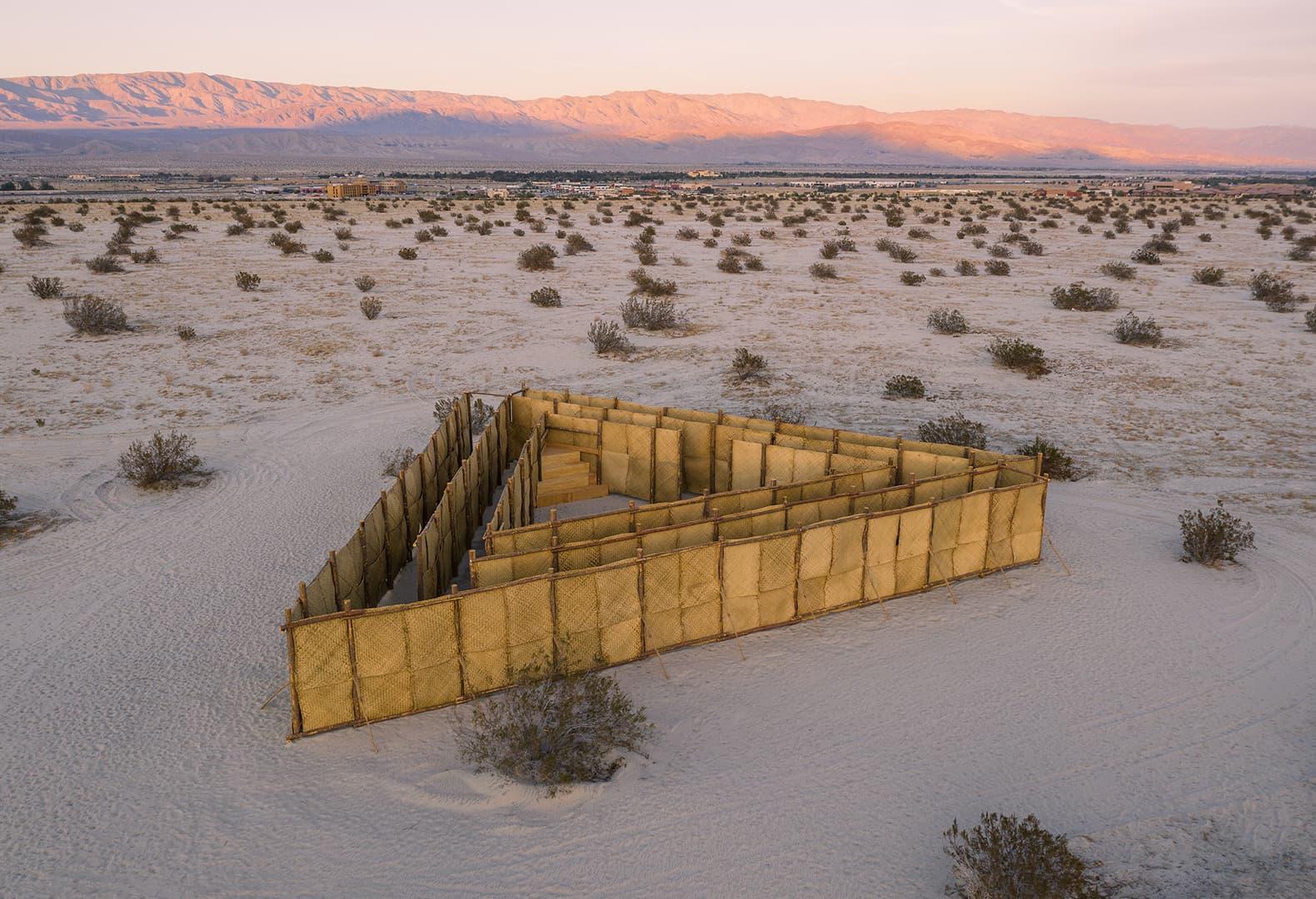 Desert X 2021. Eduardo Sarabia, The Passenger