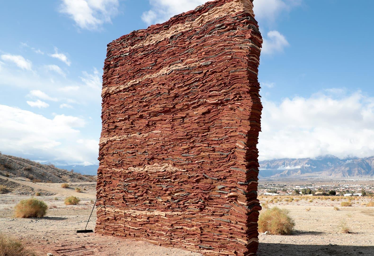 Desert X 2021. Zahrah Alghamdi, What Lies Behind The Walls