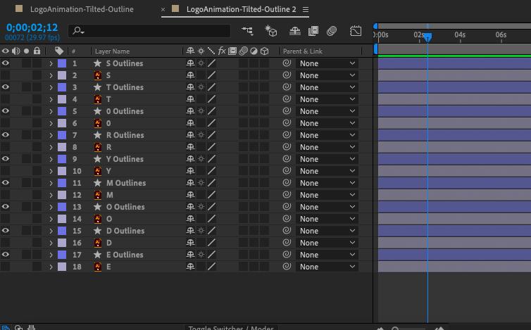 """Снимок экрана панели временной шкалы Adobe After Effects """"width ="""" 754 """"height ="""" 469 """"/>    <figcaption> Слои-фигуры отмечены звездочкой рядом с ними, и вы можете преобразовать векторную графику в слой-фигуру щелкнув правой кнопкой мыши и выбрав «Создать»> «Создать фигуры из векторного слоя» </figcaption></figure> <p> Сначала мы собираемся преобразовать логотип в слой-фигуру. На панели многослойной композиции (слои, созданные на шаге 3), выберите все слои, щелкните правой кнопкой мыши и выберите <strong> Создать </strong>> <strong> Создать фигуры из векторного слоя </strong>. Вы увидите, что каждый слой дублирован звездочкой рядом с ним — это слой-фигура. Под слоем формы вы найдете свойство <strong> Content </strong> в дополнение к свойству <strong> Transform </strong>. Справа от свойства Content <strong> </strong> вы также увидите <strong> Добавить кнопку </strong>которая позволит вам выбрать еще больше атрибутов для анимации. </p> <figure data-id="""