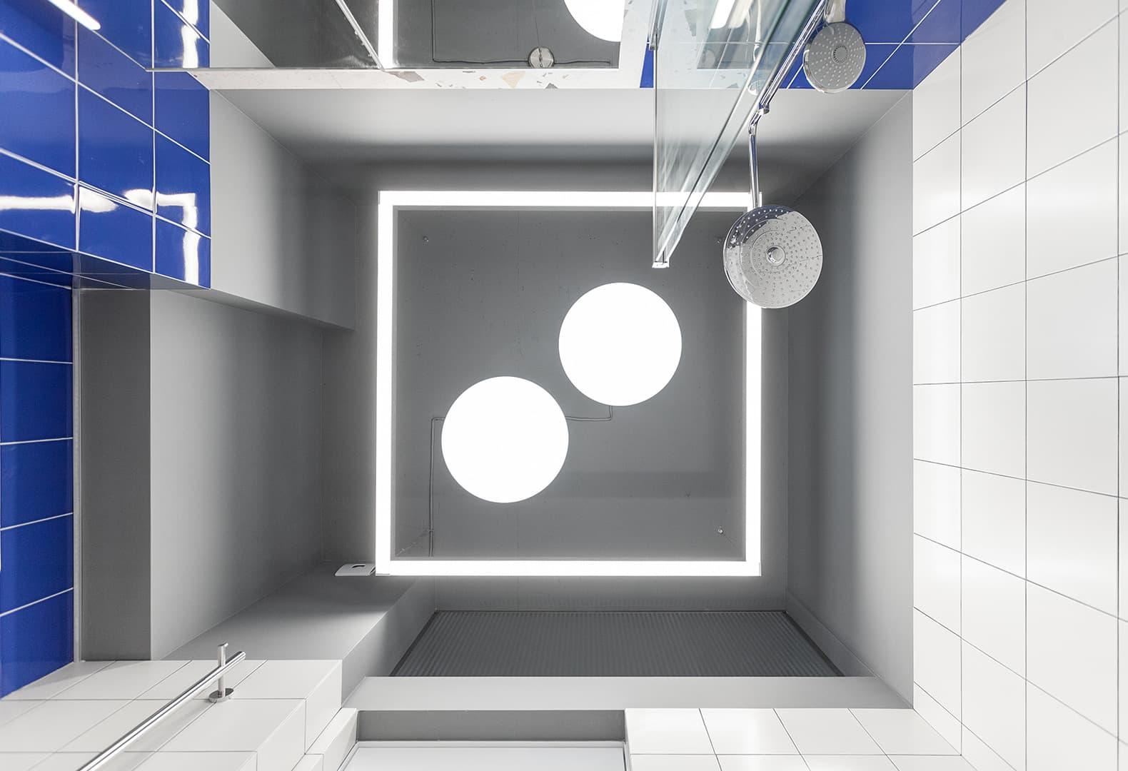 Квартира в Москве с акцентом на освещении – проект LSD bureau