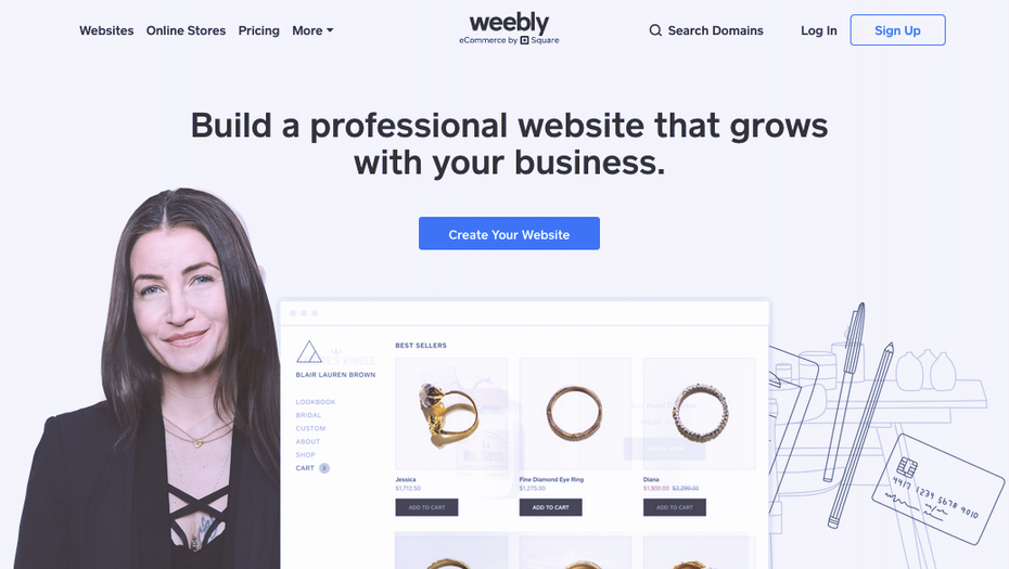 """Скриншот альтернатив WordPress: Weebly """"width ="""" 1036 """"height ="""" 585 """"/>    <figcaption> через Weebly </figcaption></figure> <p> Weebly (электронная коммерция от Square) следует той же бизнес-модели как Wix и Squarespace, но больше приспособлены к более дешевым и простым решениям. Это здорово для времени и денег, но означает, что это ограничено в настройке и функциях. </p> <p> По сравнению с WordPress Weebly проще простого. Это упрощает создание сайта, но вам придется пожертвовать некоторыми из желаемых внешнего вида, функций и функциональности. Но если вы предпочитаете менять настройки ради удобства, Weebly — хороший выбор. </p> <h3><span id="""