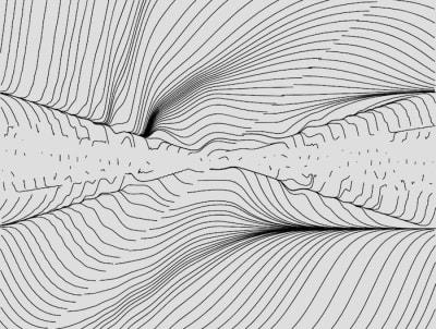 Генератор линий потока