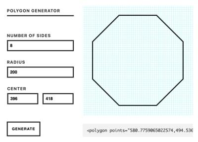 Генераторы полигонов SVG