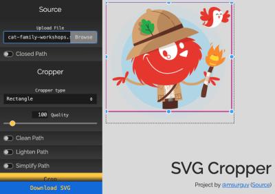 SVG Crop