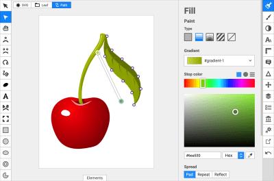 Простые онлайн-редакторы SVG