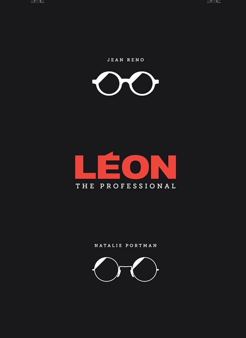 Минималистский дизайн плаката для фильма