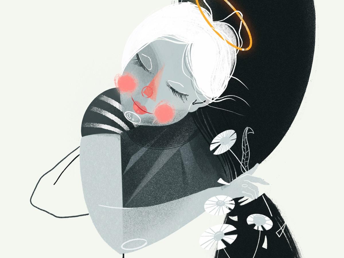 Обнимание мамы: 30 трогательных иллюстраций о матерях