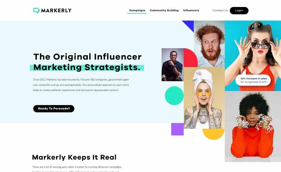 Маркетинговая платформа влиятельных лиц