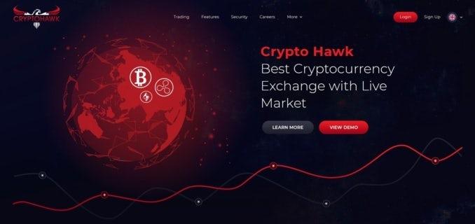 веб-дизайн криптовалюты