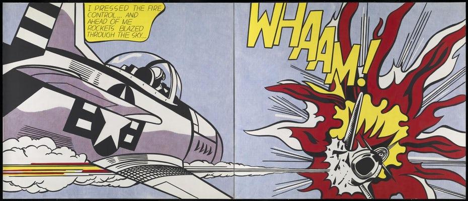 """Whaam! Роя Лихтенштейна! """"Width ="""" 1536 """"height ="""" 660 """"/>    <figcaption> Whaam Роя Лихтенштейна! (1963) через Tate Modern </figcaption></figure> <p> Хотя все из этого описывает визуальные особенности поп-арта, он не может по-настоящему объяснить, что поп-арт значил как для его художников, так и для его приверженцев.Как стиль, который часто воспроизводил одни и те же, чрезмерно распространенные коммерческие изображения, смог оказать такое длительное влияние? Чтобы понять это, нам нужно изучить исторический контекст времени, места и людей, участвовавших в этом. </p> <h2> Краткая история поп-арта <br /> — </h2> <h3> Корни поп-арта </h3> <p> Как и многие другие художественные революции, поп-арт часто осуждали некоторыми вариациями <em> Это не искусство </em>! В некоторой степени эти критики были правы: воспроизведение общедоступных изображений определенно не было тем искусством, которым было до того момента. </p> <div class='code-block code-block-3 ai-viewport-1 ai-viewport-2' style='margin: 8px 0; clear: both;'> <!-- Yandex.RTB R-A-268541-2 --> <div id="""