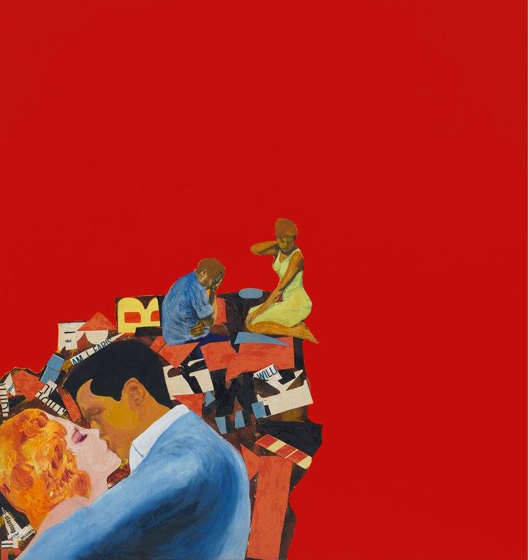 """Любовники Розалин Дрекслер """"width ="""" 750 """"height ="""" 795 """"/>    <figcaption> Любовники Розалин Дрекслер (1963) через rosalyndrexler.org </figcaption></figure> <p> Энди Уорхола часто называют Звезда поп-арта, знаменитость, в конечном счете такая же знаковая, как и те, кого он изобразил, и большая часть его работ действительно воплощала в себе суть поп-арта. Его знаменитые <em> банки для супа Кэмпбелла </em> (1962) были воспроизведены и выставлены рядами. и колонны — художественное зеркало ассортимента супермаркетов. Его <em> Диптих Мэрилин </em> (1962) был первым из шелкографии в стиле поп-арт, чтобы воспроизвести портреты покойной Мэрилин Монро на пике ее славы в ярких цветах, переходящих в черно-белые. -белое, а потом ничего. </p> <p> В общем, поп-арт — это движение, связанное с Америкой, но также и художественная контркультура 1960-х годов. Тем не менее, его наследие сохранилось на протяжении веков. </p> <p> Особое возрождение он получил в 1980-х благодаря Киту Харингу, чьи энергичные гуманоиды сделали упор на повторение и коммерческое воспроизведение с целью создания доступного искусства. Таким образом, его фрески и товары в популярном магазине получили огромную известность, одновременно распространяя информацию о различных проблемах, от апартеида до квир-дискриминации. </p> <p> В последнее время художники от Такаши Мураками до Бэнкси несли факел поп-арта в современность. </p> <figure data-id="""