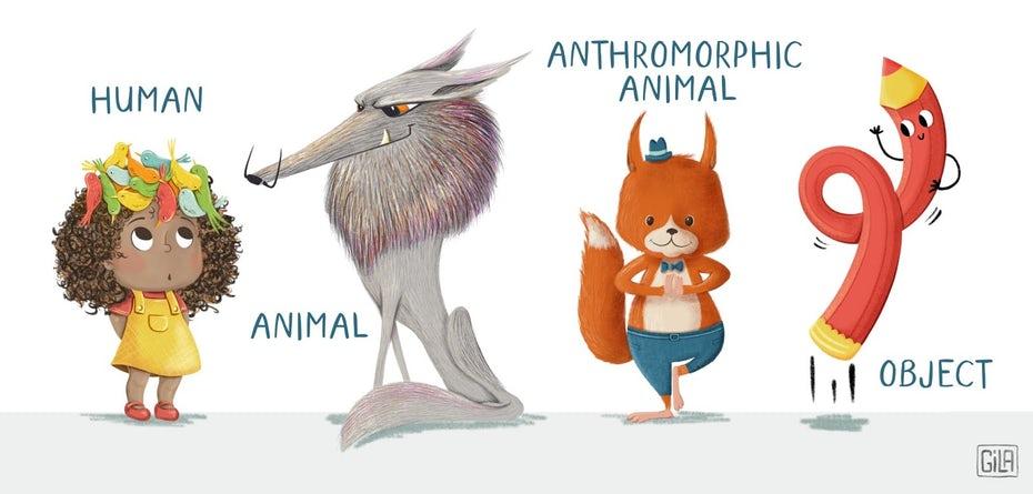 """Дизайн персонажей, предназначенный для детей, может принимать множество творческих форм """"width ="""" 1600 """"height ="""" 766"""