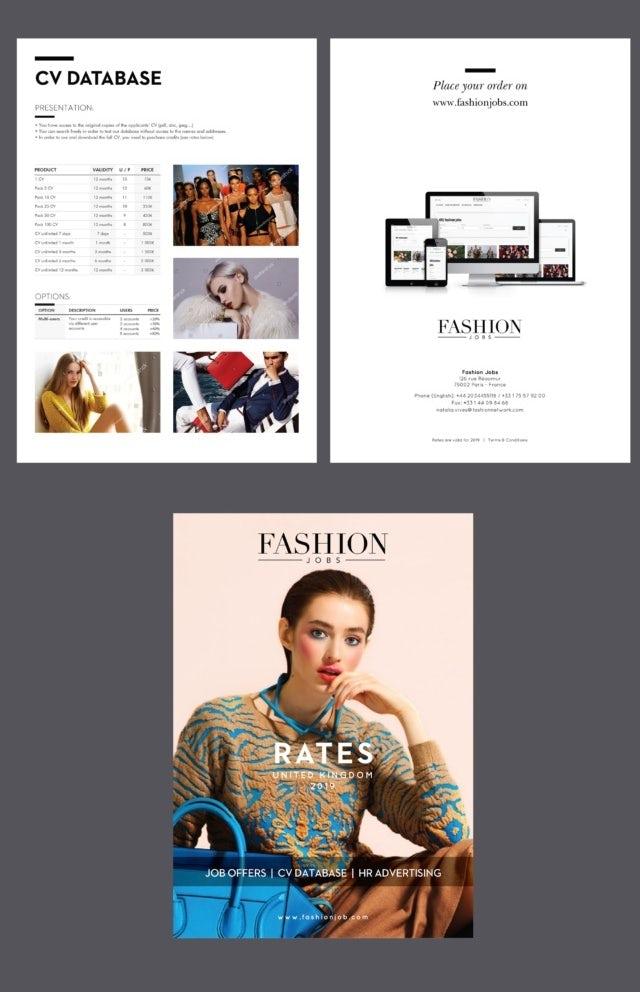 """Брошюра с большим объемом данных для ищущих работу в индустрии моды """"width ="""" 640 """"height ="""" 992"""