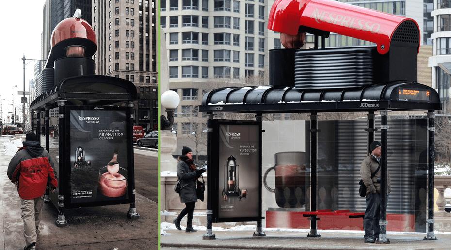 "3D Nespresso ad ""width ="" 1486 ""height ="" 825"
