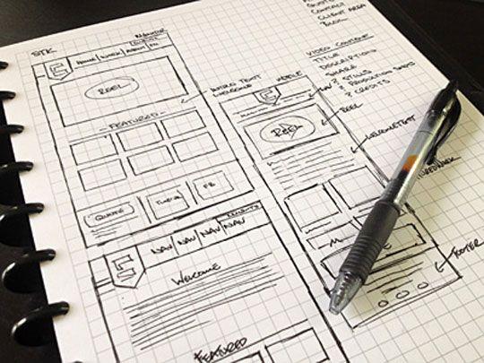 """эскиз веб-дизайна """"width ="""" 540 """"height ="""" 405 """"/>    <figcaption> Начните с наброска идеи вашего веб-дизайна, прежде чем переходить к компьютеру или веб-конструктору. Via Design Beep </figcaption></figure> <p> В частности, лучший способ начать разработку веб-страницы — это взять карандаш и лист бумаги. Начните с написания списка целей для вашего веб-сайта, а затем создайте набор страниц, направленных на достижение этой основной цели. </p> <p> Такой дизайн позволит вам выявить любые явные дублирования в вашем дизайне и значительно поможет оптимизировать ваш сайт. </p> <p> Такой подход на самом деле является одной из причин, по которой лучшие веб-дизайнеры могут взимать со своих клиентов, казалось бы, высокие гонорары. Не потому, что они знают, как использовать программное обеспечение для создания веб-сайтов (сегодня это может почти любой), а потому, что они знают, как правильно структурировать ваш сайт, и могут помочь вам убедиться в том, что ваше видение работает задолго до того, как кто-то из вас коснется компьютера. </p> <h2> 3. С видом на сетки, инструкции и столбцы <br /> — </h2> <p> Следующим этапом создания вашего веб-сайта является создание шаблонов для ваших страниц. Когда дело доходит до дизайна страницы, даже самые простые конструкторы веб-сайтов поставляются с инструментами для настройки сеток, рекомендаций и столбцов. Многие молодые веб-дизайнеры игнорируют эти инструменты, думая, что они подходят только для старых, «блочных» сайтов. </p> <p> В действительности сетки остаются основным структурным элементом каждой хорошо спроектированной веб-страницы и всегда должны использоваться для упорядочивания визуальных элементов страницы. Сетки и инструкции легли в основу набора основных навыков графического дизайна задолго до того, как появился веб-дизайн, и они, безусловно, останутся основным инструментом на долгие годы. </p> <figure data-id="""