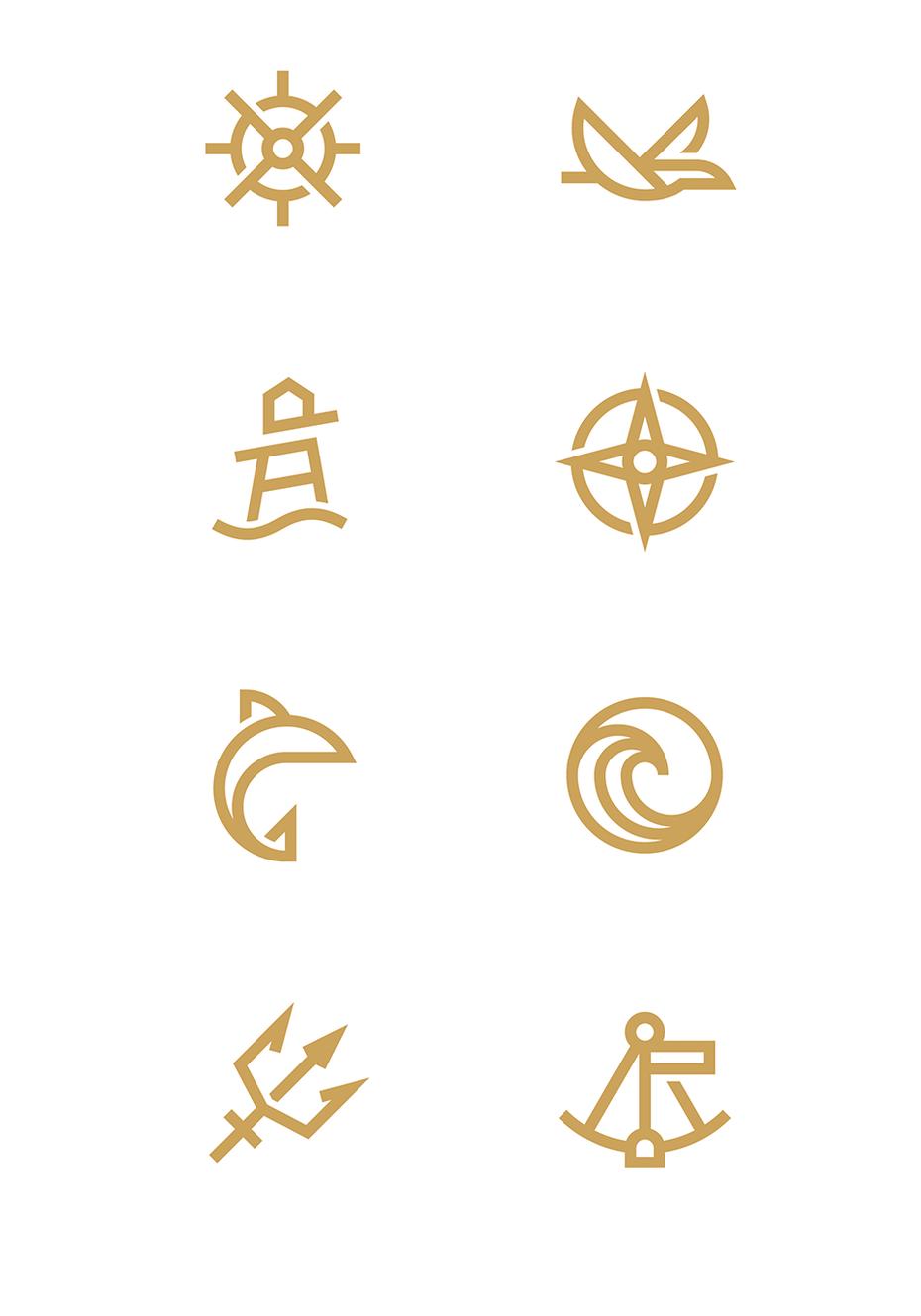 Морские иконки