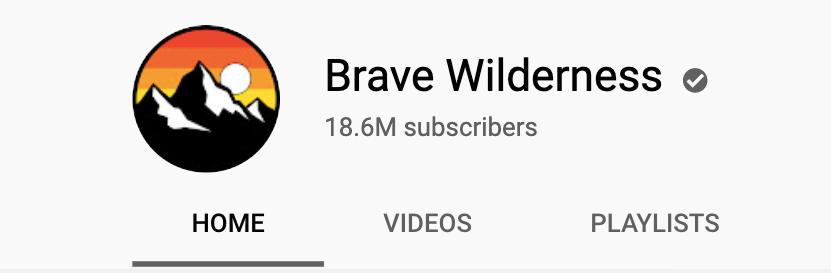 "изображение профиля канала brave wildness ""width ="" 831 ""height ="" 273"