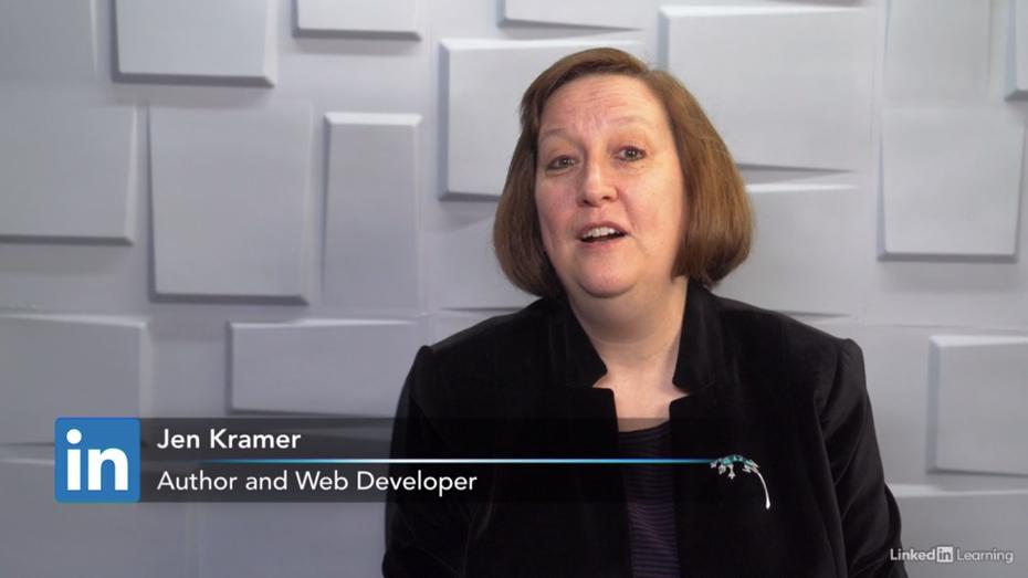 Скриншот примера учебного пособия по Webflow: Обучение Webflow от Джен Крамер