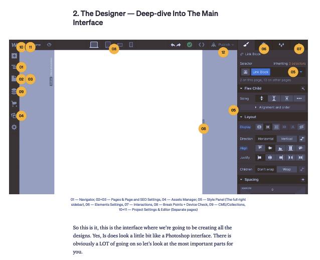 Снимок экрана с примером учебного пособия по веб-потоку: «Самое простое руководство по веб-потоку для начинающих», автор Ян Лозерт