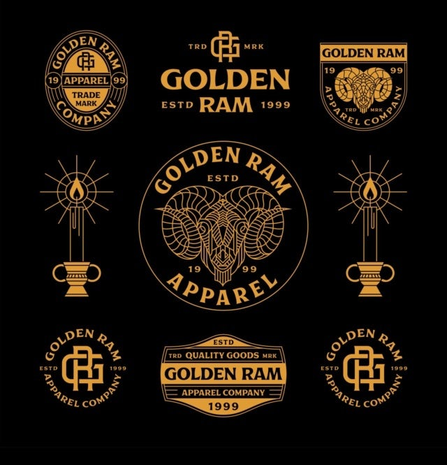 """Дизайн логотипа «Золотой овен» в черно-золотом цвете """"width ="""" 640 """"height ="""" 665 """"/>    <figcaption> Дизайн логотипа Skilline </figcaption></figure> <p> Чем больше ваш дизайнер знает о вашем компании, тем лучше будет дизайн логотипа. Но у дизайнеров не всегда есть под рукой список всего, что им нужно. Вы можете взять на себя более активную роль, просто спросив их напрямую, какие документы или детали им понадобятся . </p> <p> Обычно деловые документы, такие как персонажи и руководства по стилю брендинга, напрямую связаны с дизайном логотипа. Если у вас есть какие-либо специальные документы, например маркетинговые отчеты, они тоже могут быть полезны. Спросите своего дизайнера, что было бы им полезно. </p> <h3><span id="""