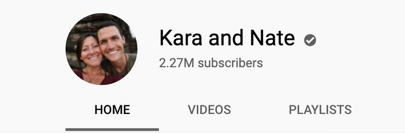 """Кара и Нейт изображение профиля на канале YouTube """"width ="""" 831 """"height ="""" 273"""