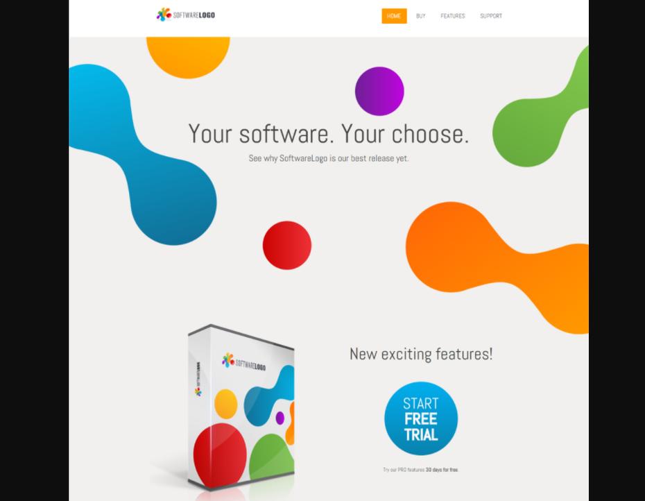 ] концепция веб-дизайна программного обеспечения