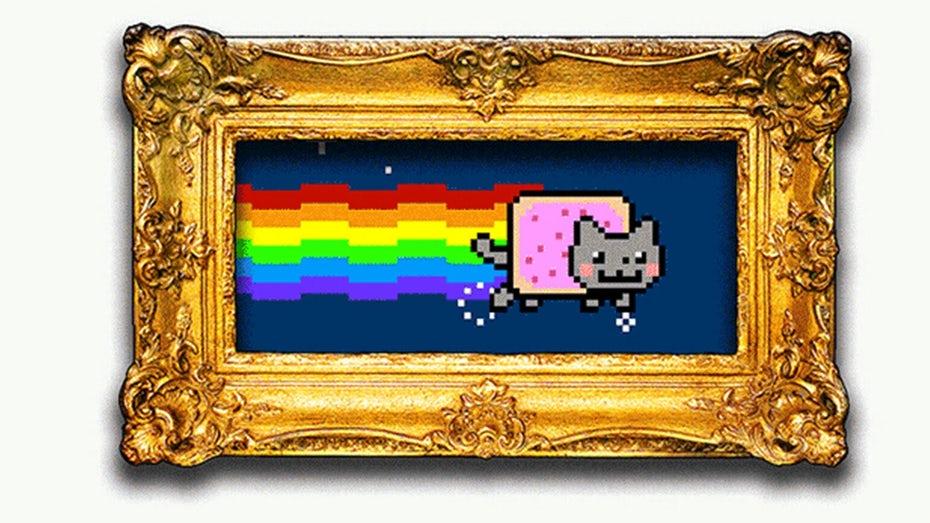 """Кошка с телом Poptart, известная как Nyan Cat как обрамленная NFT """"width ="""" 1542 """"height ="""" 867 """"/>    <figcaption> Nyan Cat NFT продается почти за 600 000 долларов. </figcaption></figure> <p> ] Тем не менее, один момент, о котором следует знать, — это то, насколько дорого стоит сбор за чеканку. Дизайнеры должны перебивать цены друг друга, чтобы их работы «чеканились» на блокчейне. Цены колеблются в зависимости от времени и сети, но колеблются от 80 до 1000 долларов. . Этот сбор не гарантирует продаж для дизайнеров. </p> <h3><span id="""